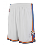Shorts adidas Oklahoma City Thunder New Swingman Blanco