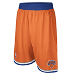 Shorts adidas New York Knicks Swingman Naranja