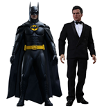 Batman Vuelve Pack de 2 Figuras Movie Masterpiece 1/6 Batman & Bruce Wayne 32 cm