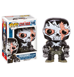 Captain America Civil War POP! Vinyl Cabezón Crossbones (Battle Damage) 9 cm