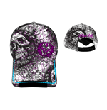 Gorra Miami Ink Skull Logo Ajustable