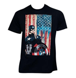 Camiseta Capitán América Civil War Patriotic Captain