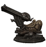Alien Maquette Space Jockey 53 cm