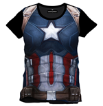 Camiseta Capitán America Civil War Cap Chest
