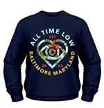 Sudadera All Time Low Vacation Heart