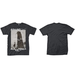 Camiseta Asking Alexandria The Black Original Art