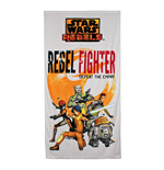 Star Wars Toalla Rebel Fighter 140 x 70 cm