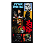 Star Wars Toalla Characters 140 x 70 cm