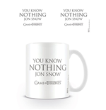 Juego de Tronos Taza You Know Nothing Jon Snow