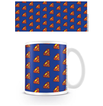 DC Originals Taza Superman Logo Pattern