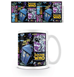 Doctor Who Taza Comic Strip