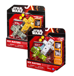 Star Wars Box Busters Juego de dados Packs de 2 Starter Sets Surtido (4)