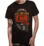 Camiseta All Time Low 201658