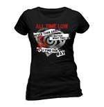 Camiseta All Time Low 201716