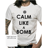 Camiseta Rage Against The Machine - Calm Like A Bomb