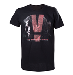 Camiseta Metal Gear - Black Phantom Pain