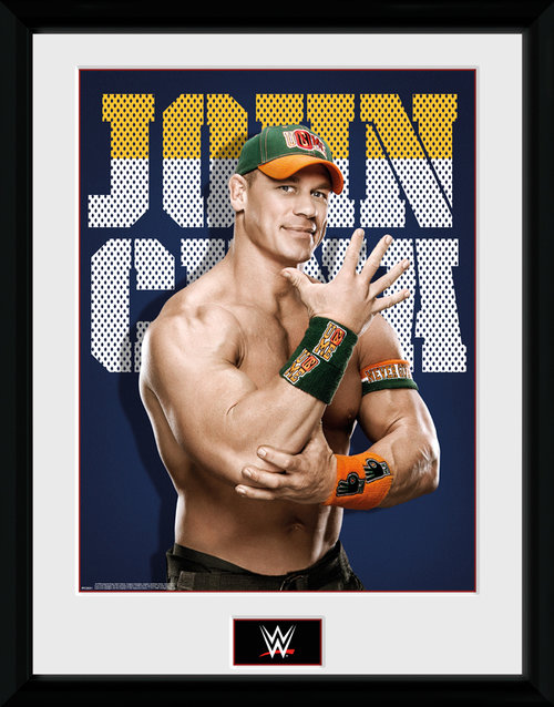Póster WWE John Cena Photo enmarcado