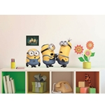 Pegatina para pared Minions Relax&Fight