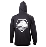 Sudadera Metal Gear - Black Diamond Dogs Zipper