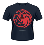 Camiseta Juego de Tronos (Game of Thrones) - Fire And Blood