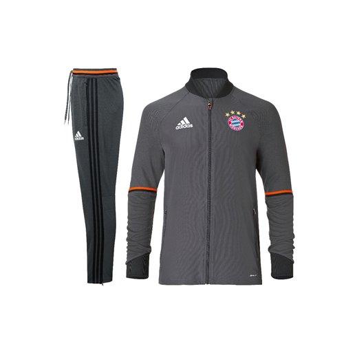 Compra Chándal entrenamiento Bayern de Munich 2016-2017 Adidas de niño 3518311336348