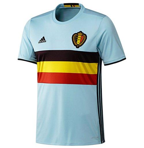 Compra Camiseta Bélgica 2016-2017 Adidas Away de niño Original a8b6cd6ea1780