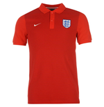 Polo Inglaterra 2016-2017 Nike Authentic Grand Slam (Roja)