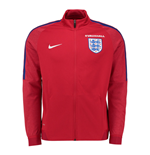 Chaqueta Inglaterra 2016-2017 Nike Authentic Revolution Knit Track (Roja)
