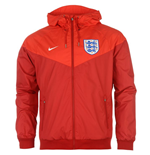 Chaqueta Inglaterra 2016-2017 Nike Authentic Windrunner (Roja)