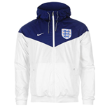 Chaqueta Inglaterra 2016-2017 Nike Authentic Windrunner (Blanca)
