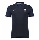 Polo Francia 2016-2017 Nike Authentic de niño