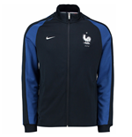 Chaqueta Francia 2016-2017 Nike Authentic N98 (Azul)
