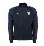 Chaqueta Francia 2016-2017 Nike Authentic Revolution Knit (Azul)