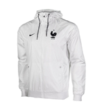 Chaqueta Francia 2016-2017 Nike Authentic Windrunner (Blanco)