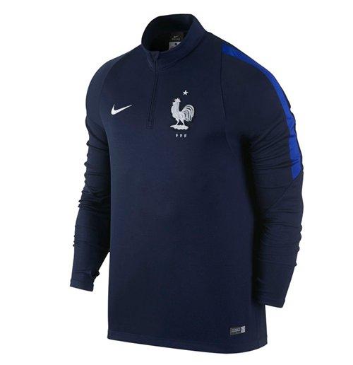 Compra Camiseta Francia 2016-2017 Nike Drill (Azul) Original c8452d5dd1eeb