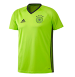 Camiseta Alemania 2016-2017 Adidas Players (verde)