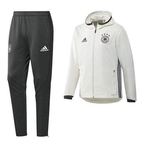 57a07b4f8812d Compra Chándal Presentación Alemania Fútbol 2016-2017 Adidas (blanco)