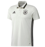 Polo Alemania  2016-2017 Adidas Staff (blanco)