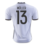 Camiseta Alemania 2016-2017 Home (Muller 13)