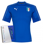 Camiseta Italia 2016-2017 Authentic Home Puma