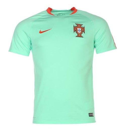 Compra Camiseta entrenamiento Portugal 2016-2017 Nike (verde) de niño b014ef25af6a2