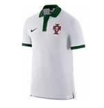 Polo Portugal 2016-2017 Nike Core (blanco)