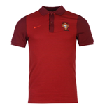 Polo Portugal 2016-2017 Nike Authentic (rojo)