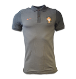 Polo Portugal 2016-2017 Nike Authentic (negro)