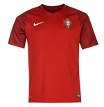 Camiseta Portugal 2016-2017 Home Nike