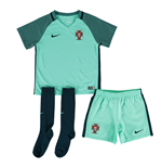Mini conjunto Portugal 2016-2017 Away Nike de niño