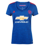 Camiseta Manchester United FC 2016-2017 Adidas Away de mujer