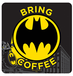 Posavaso Batman - Bring Coffee