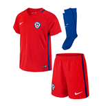 Mini conjunto Chile 2016-2017 Home de niño