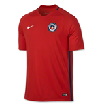 Camiseta Chile 2016-2017 Home Nike de niño